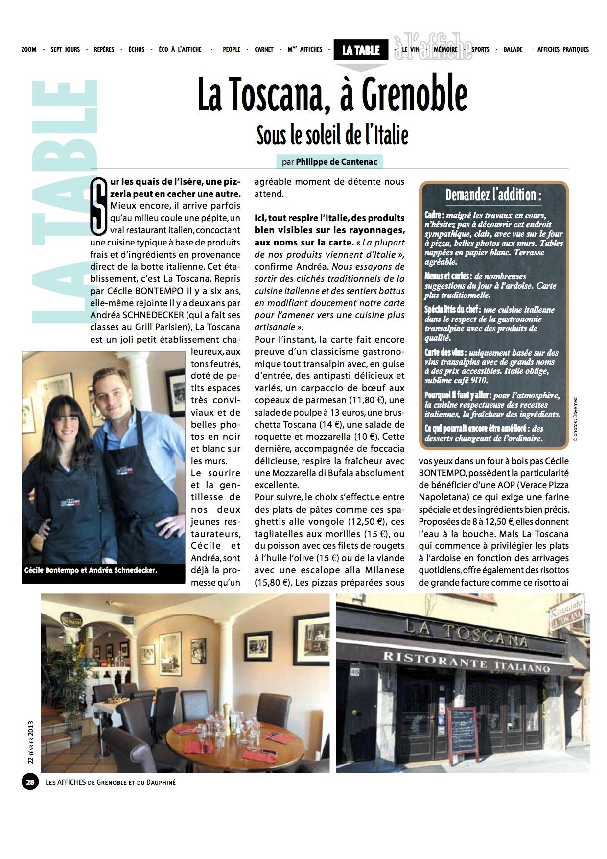 Les Affiches, mai 2013 (1)